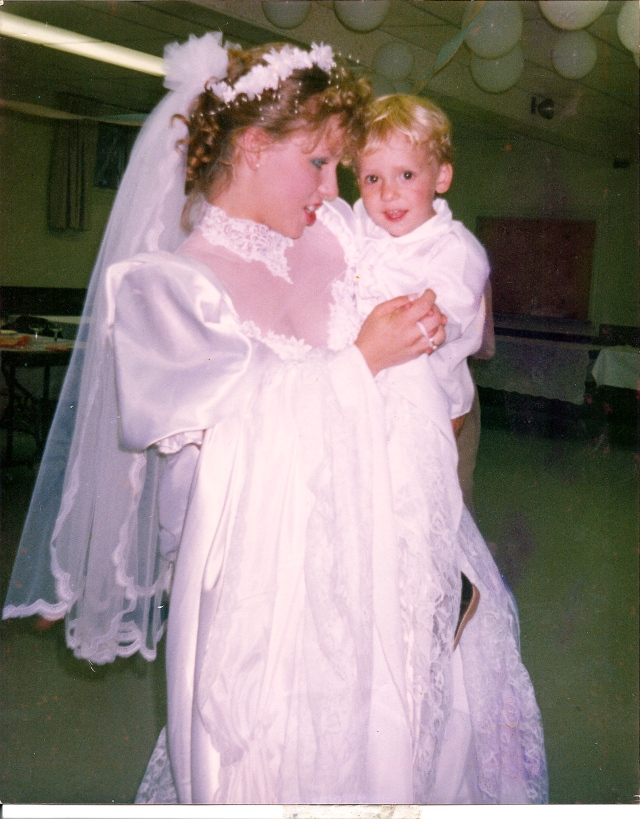 Jay and Shel wedding day
